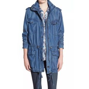 Rails denim chambray jacket Intermix